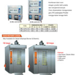 8 Combi Deck Oven dan Proofer