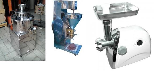 Peralatan Mesin Bakso Penting