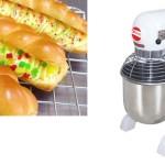 Peralatan Pembuat Roti dan Roti Manis Lembut