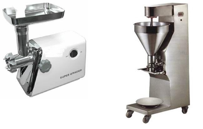 mesin giling daging dan mesin cetak bakso