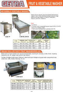 Fruits & Vegetable Washer