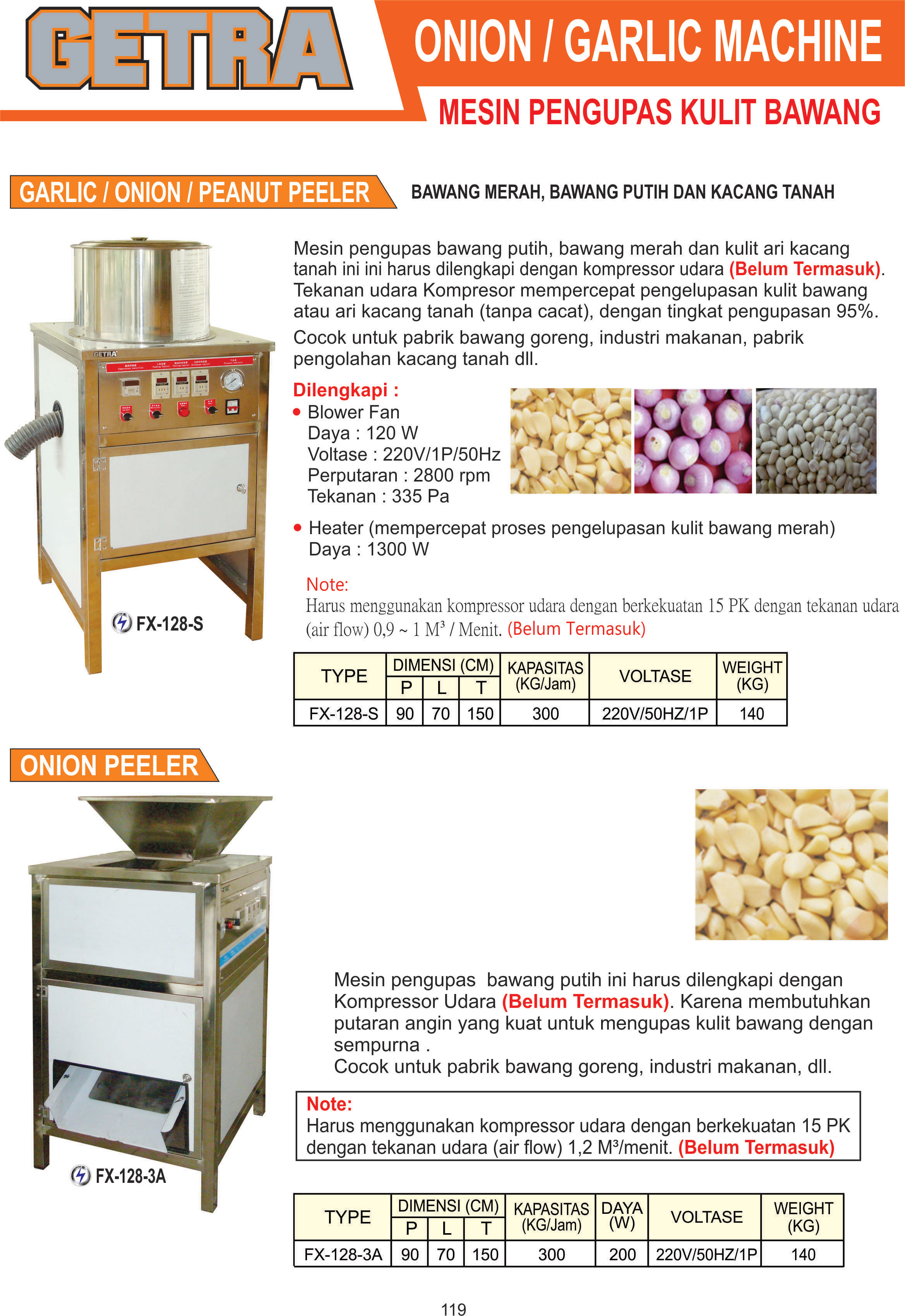 Onion atau Garlic Machine