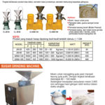 Sugar Grinding Machine dan Colloid Mill