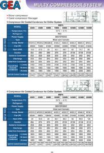 Multy Compressor System (Chiller)
