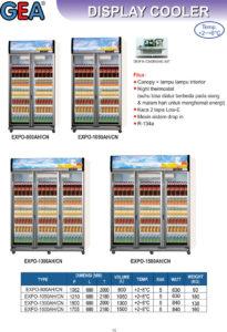 Display Cooler (Double door)