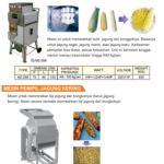 VEGETABLE PROCESSING EQUIPMENT MZ-268