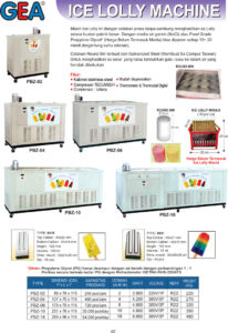Ice Lolly Machine