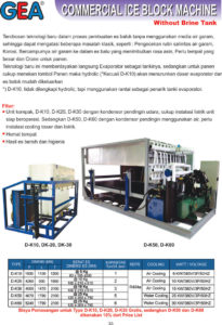 Commercial Ice Block Machine (without Brine Tank)