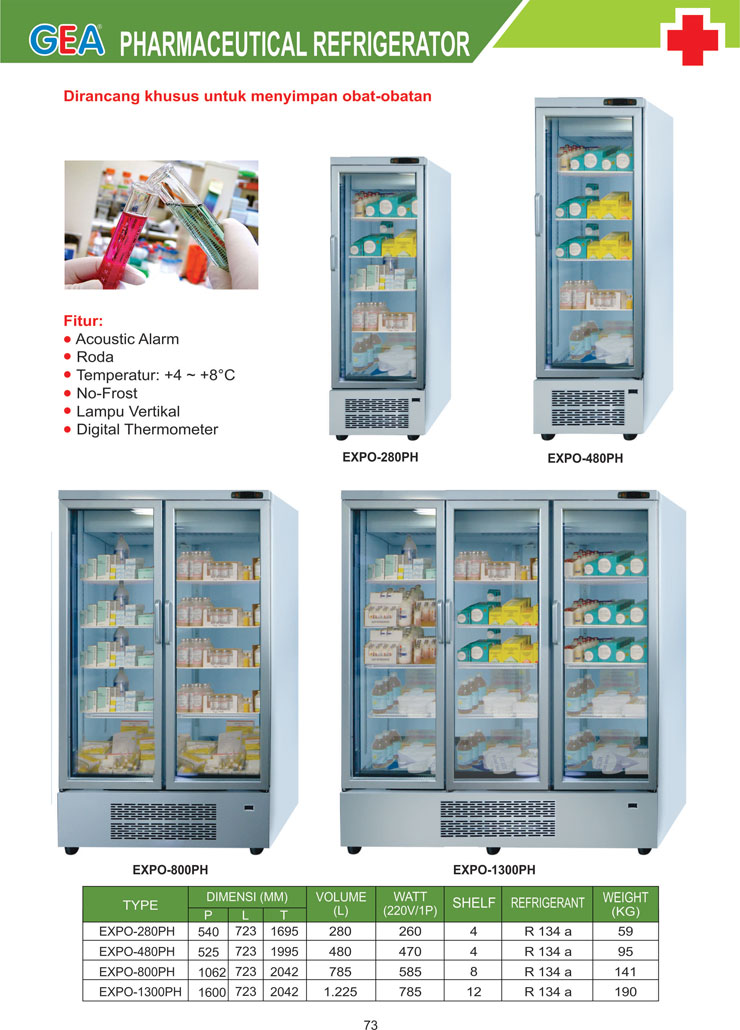 BROSUR_Medical-Refrigeration-EXPO-280PH