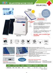 Solar System Vaccine Cooler