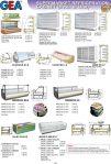 Supermarket Refrigeration Cabinet (Remot CU)