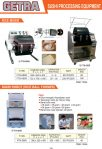 Sushi Processing Equipment (Rice Mixer