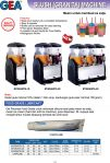 Slush Granita Machine, Food Grade Lubricant