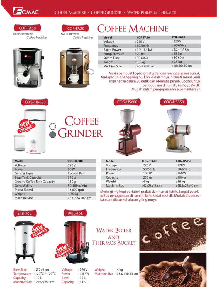 fomac coffe