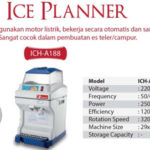 fomac ice planner