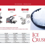 fomac ice crusher