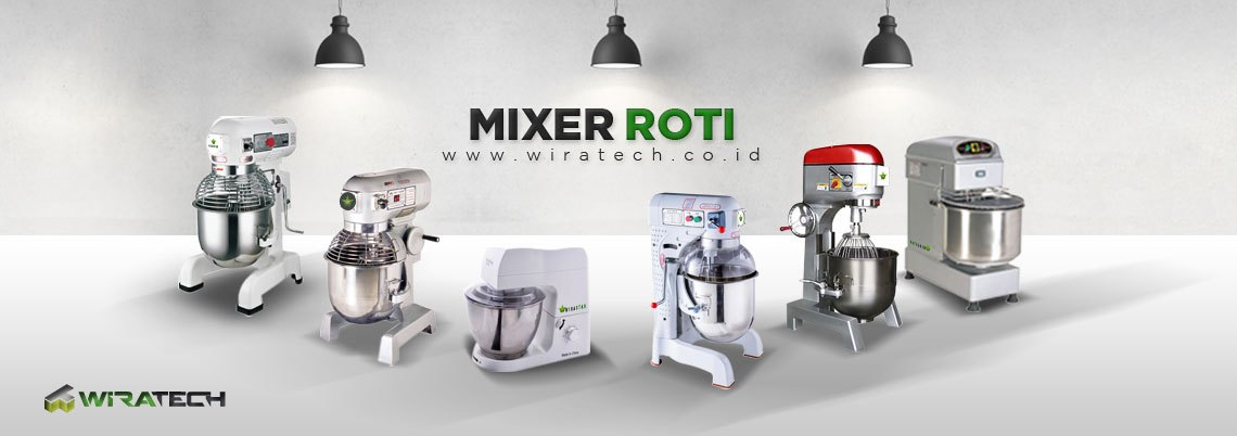 Membeli Mixer Roti