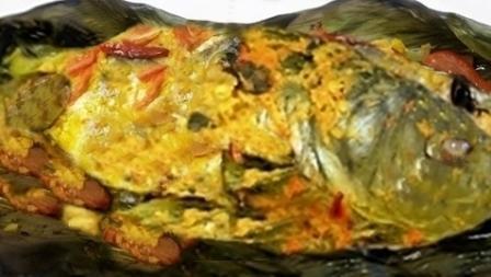 Pepes Ikan Mujaer