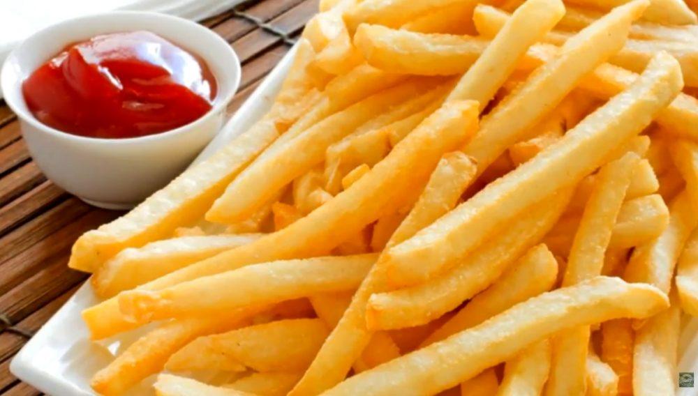 kentang goreng tanpa tepung