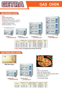 7 Gas Oven
