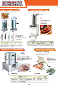MEAT and FISH PROCESSING EQUIPMENT MS-7V