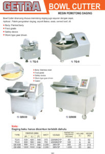 MEAT and FISH PROCESSING EQUIPMENT TQ-5