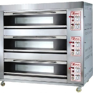 Oven Roti 6 Trays 3 Deck