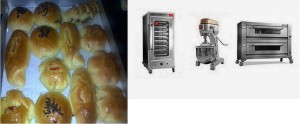 mesin roti dan roti