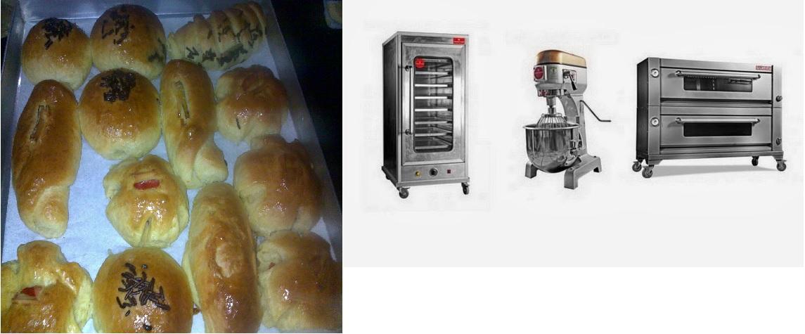 hasil roti sempurna dengan mesin roti
