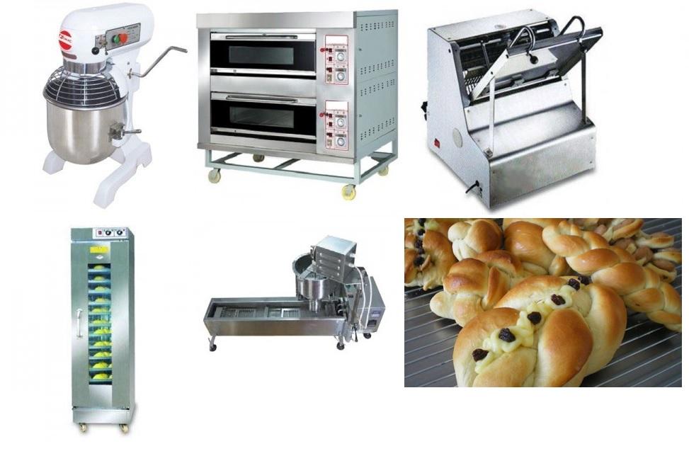 bermacam mesin roti