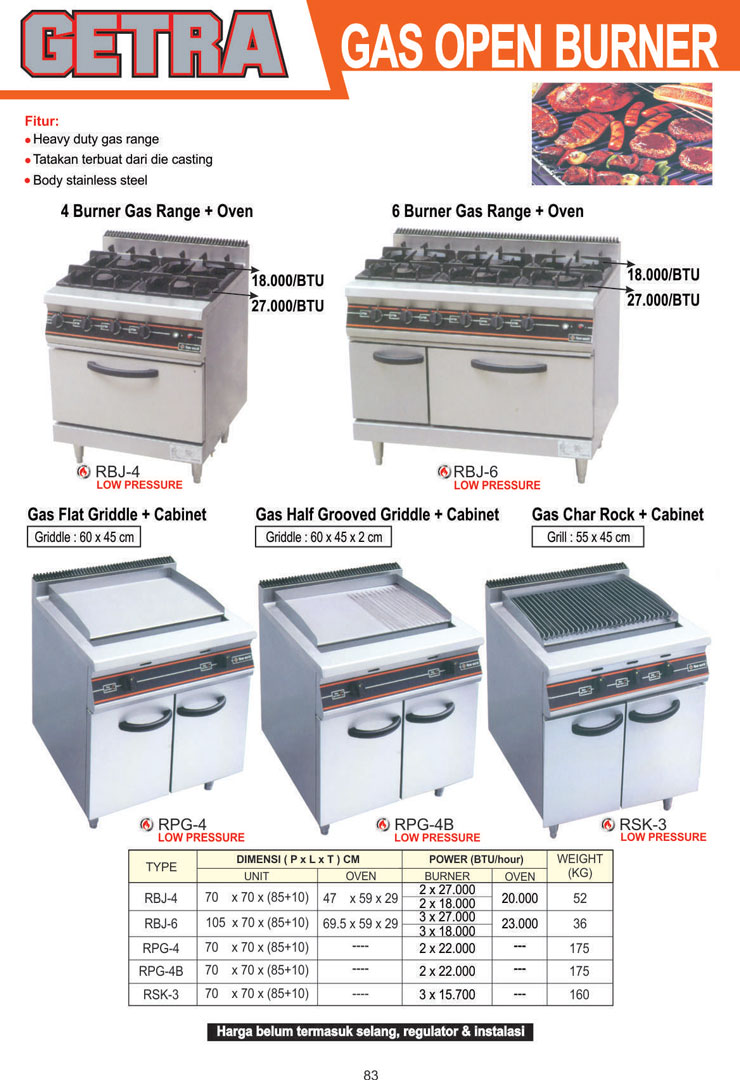 Gas Kwali Range wweb small