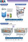 Can Cooler, Opened Top Showcase, Display Chiller
