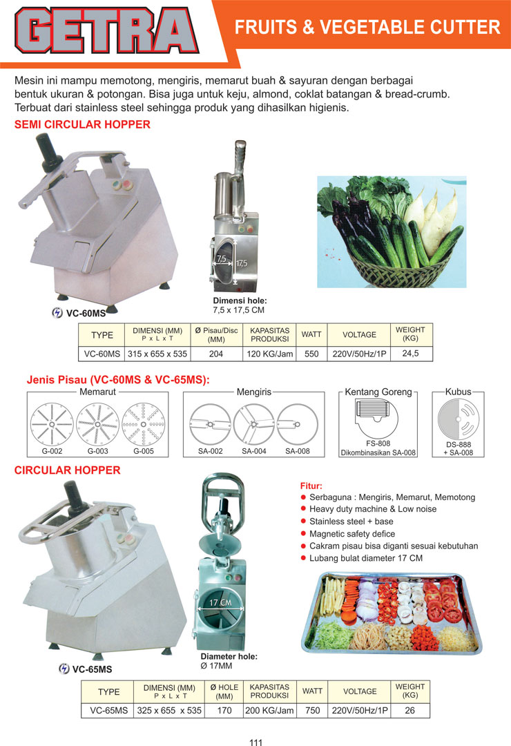 Fruit and Vegetables Cutter