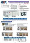 Stainless Steel Under Counter Chiller Drawer Series