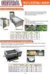 Fruits & Vegetable Washer