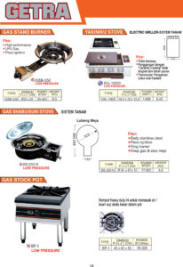 COOKING EQUIPMENT GSB-330