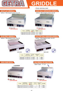 COOKING EQUIPMENT HGG-753