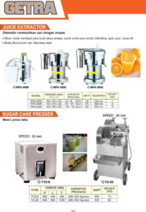 VEGETABLE PROCESSING EQUIPMENT WFA-4000