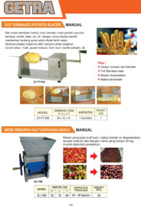 VEGETABLE PROCESSING EQUIPMENT ZY-PT100