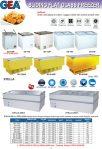 Sliding Flat Glass Freezer (-25ºC)