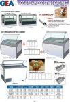 Ice Cream Scooping Cabinet
