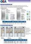 Kitchen Freezer / Chiller Cabinet
