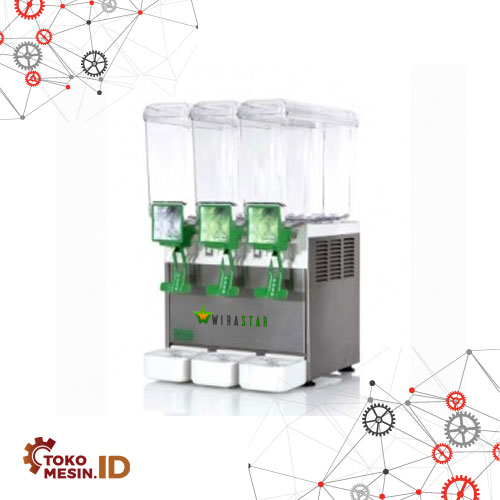 Juice Dispenser 3 Bowl