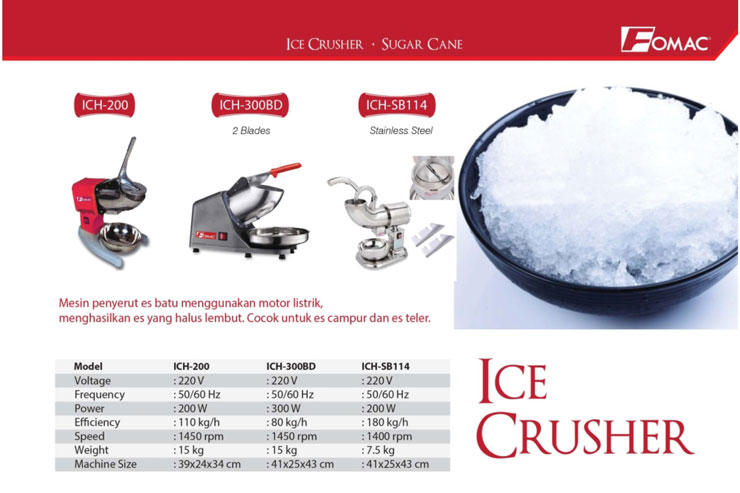 fomac-17-icecrusher