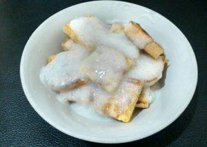 Roti Bakar Teflon Saus Santan
